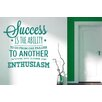 Cut It Out Wall Stickers Success Is the Ability to Fail Wall Sticker