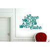 Cut It Out Wall Stickers I Love You Like a Fat Kid Loves Cake Wall Sticker