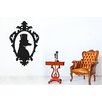 Cut It Out Wall Stickers Posh Dog Profile In Ornate Frame Wall Sticker