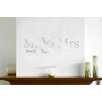 Cut It Out Wall Stickers Mr Mrs Wall Sticker