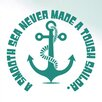 Cut It Out Wall Stickers A Smooth Sea Never Made a Tough Sailor Wall Sticker