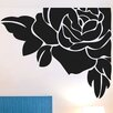 Cut It Out Wall Stickers Corner Rose Wall Sticker