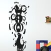 Cut It Out Wall Stickers Circus Animals Balancing on Seals Ball Wall Sticker