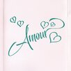 Cut It Out Wall Stickers Amour Love in French Door Room Wall Sticker