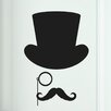 Cut It Out Wall Stickers Gentleman Door Room Wall Sticker
