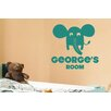 Cut It Out Wall Stickers Personalised Elephant Kids Room Sign Wall Sticker