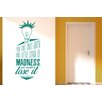 Cut It Out Wall Stickers Robin Williams You Are Only Given One Little Spark Of Madness Wall Sticker