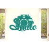 Cut It Out Wall Stickers Smile At The Camera Wall Sticker