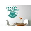 Cut It Out Wall Stickers Tea Time Infused Aroma Wall Sticker