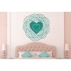 Cut It Out Wall Stickers Spiral Heart Wall Sticker