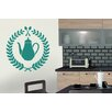 Cut It Out Wall Stickers Tea Badge Wall Sticker