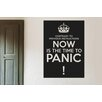 Cut It Out Wall Stickers Contrary To Previous Instructions Panic Now Wall Sticker