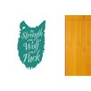 Cut It Out Wall Stickers The Strength Of The Wolf Is The Pack Wall Sticker