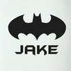 Cut It Out Wall Stickers Personalised Batman Boys Sign Door Room Wall Sticker