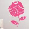 Cut It Out Wall Stickers La Vie En Rose Wall Sticker