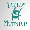 Cut It Out Wall Stickers Little Monster Door Room Wall Sticker