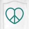 Cut It Out Wall Stickers Love Peace Heart Door Room Wall Sticker