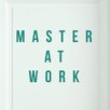 Cut It Out Wall Stickers Master at Work Door Room Wall Sticker