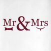 Cut It Out Wall Stickers Mr Mrs Door Room Wall Sticker