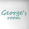 Cut It Out Wall Stickers Personalised Hand Written Door Room Wall Sticker