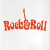 Cut It Out Wall Stickers Rock and Roll Door Room Wall Sticker