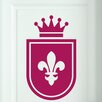 Cut It Out Wall Stickers Royal Shield Door Room Wall Sticker