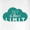 Cut It Out Wall Stickers Sky Is the Limit Door Room Wall Sticker