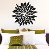 Cut It Out Wall Stickers Flowering Leafs Wall Sticker