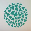Cut It Out Wall Stickers Small Hearts In a Circle Wall Sticker