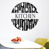 Cut It Out Wall Stickers Forks And Spoons Kitchen Sign Wall Sticker