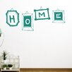 Cut It Out Wall Stickers Home Sign In Different Frames Wall Sticker