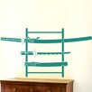 Cut It Out Wall Stickers Three Samurai Swords On Stand Wall Sticker