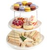 Culina Designs Fozzils Collapsible Three Tier Cake Stand