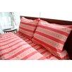 Welspun Amy Butler Sari Bloom 300 TC Organic Cotton Sheet Set