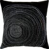 Welspun Spun Threads with a Soul® Tree Bark Handcrafted Throw Pillow