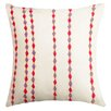 Welspun Spun Threads with a Soul® Handcrafted Cotton Throw Pillow