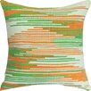 Welspun Spun Threads with a Soul® Saffron Beauty Handcrafted Throw Pillow