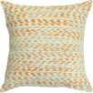Welspun Spun Threads with a Soul® Creamsicle Handcrafted Throw Pillow