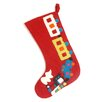 Arcadia Home Toy Train Christmas Stocking