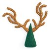 Arcadia Home Antler Tree Topper