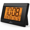 Marathon Watch Company Digital Wall Clock with Temperature and Humidity