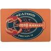 Island Girl Home Lobster Seafood Floor Mat