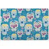 Island Girl Home Sugar Skulls Floor Mat