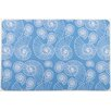 Island Girl Home Nautilus Outline Floor Mat