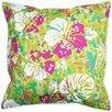 Island Girl Home Key West Tropical Throw Pillow