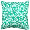 Island Girl Home Pelican and Fish Throw Pillow