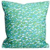 Island Girl Home Fish Scales Throw Pillow