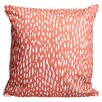 Island Girl Home Hipster Coral Throw Pillow