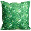 Island Girl Home Jungle Throw Pillow