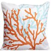 Island Girl Home Coral Duo Throw Pillow